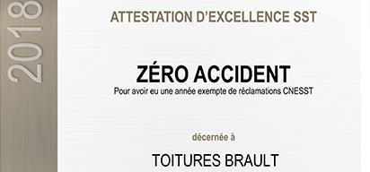 Attestation d'excellence SST